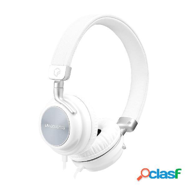 Lfacoustics audífonos feel, alámbrico, 1.1 metros, 3.5mm, blanco