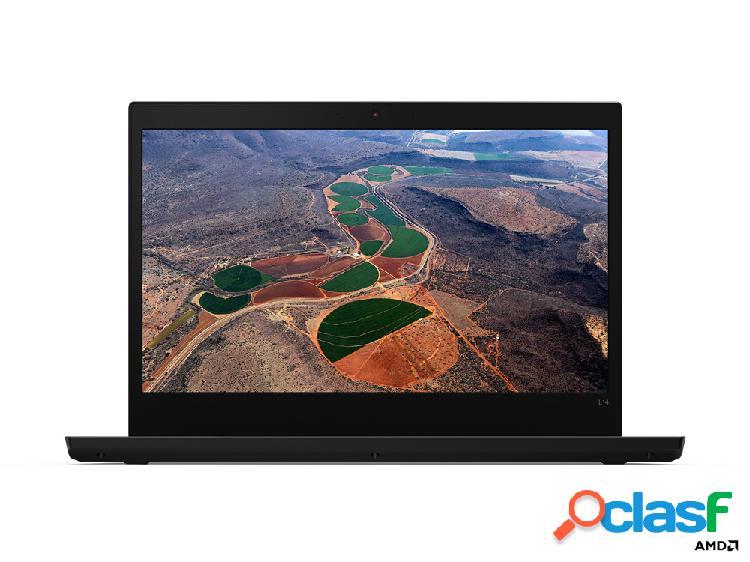 "Laptop lenovo thinkpad l14 14"" hd, amd ryzen 5 pro 4650u 2.10ghz, 8gb, 256gb ssd, windows 10 pro 64-bit, negro"