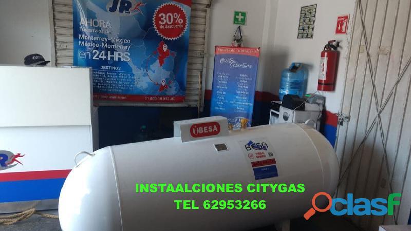 """Tanque de gas estacionario 120 litros grupo """"citygas"""""""