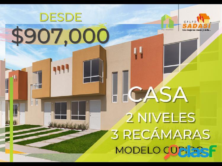 Casa 3 recámaras héroes san pablo modelo cupido