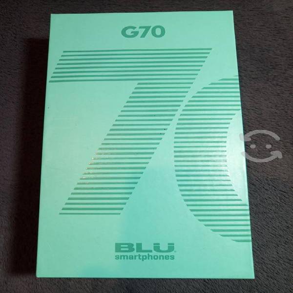 Celular android marca blu modelo g70 de 32gb/2 ram