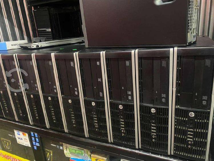 """Computadoras hp intel core i5 """"bastantes equipos"""""""
