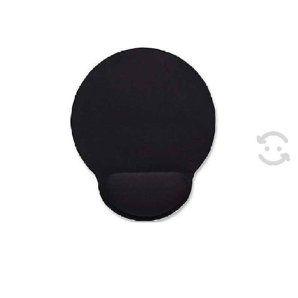 Mouse pad manhattan tipo gel negro 434362 posa muñ