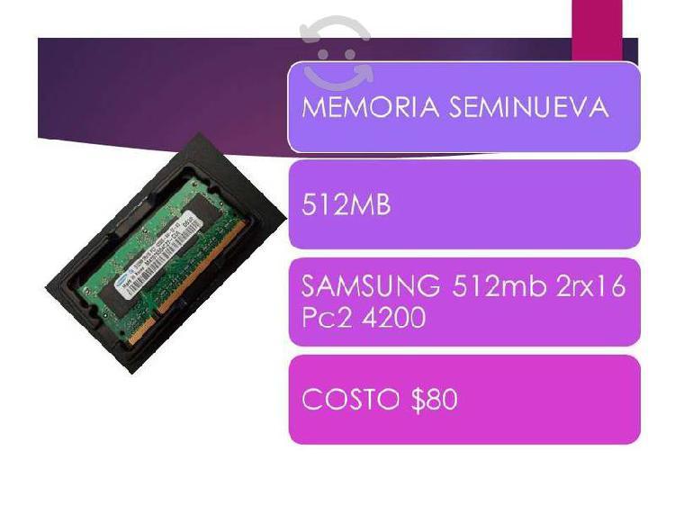 Memorias laptop mejoro precio