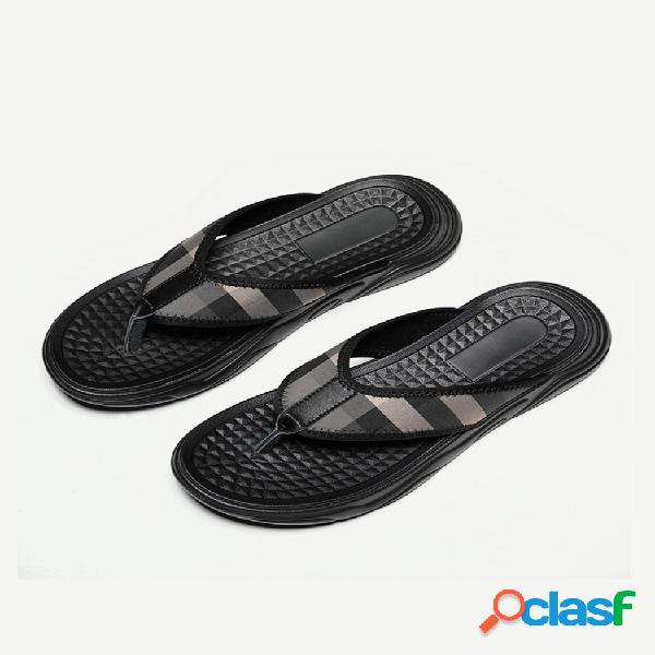 Zapatillas zapatillas de temporada para hombre sandalias tendencia de personalidad pinch al aire libre playa zapatos chanclas hombre