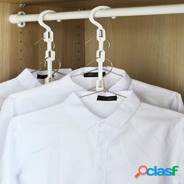 Multifuncional percha artefacto de almacenamiento gancho percha dormitorio doméstico d tendedero para secar ropa para estudiantes percha