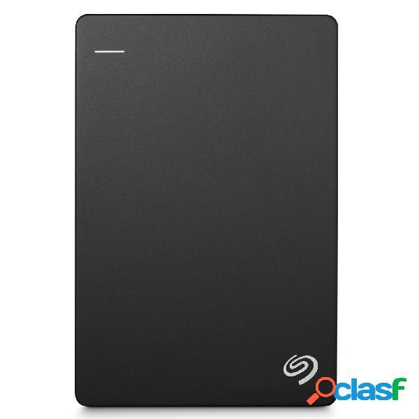 Disco duro externo seagate backup plus slim portátil 2.5'', 1tb, usb 3.0, negro - para mac/pc