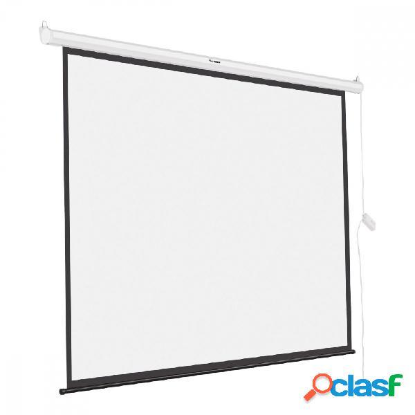 Steren pantalla de proyeccion automatica pro-020 100'', blanco