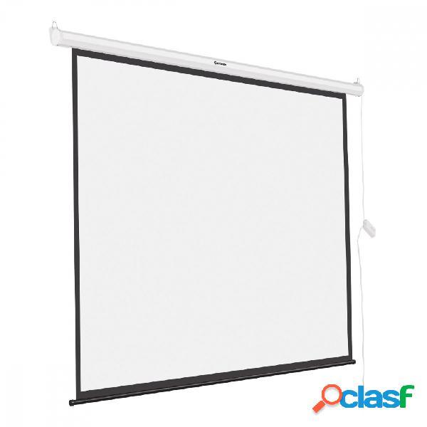 Steren pantalla de proyección automática pro-010, 84'', blanco