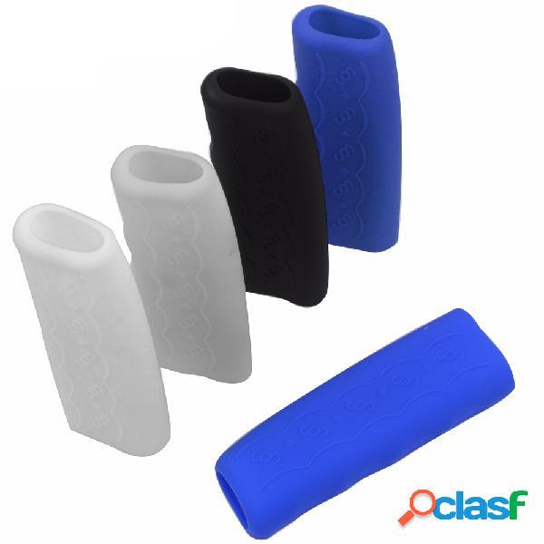 Silica gel coche funda antideslizante para empuñaduras de freno de mano funda protectora de freno de mano universal
