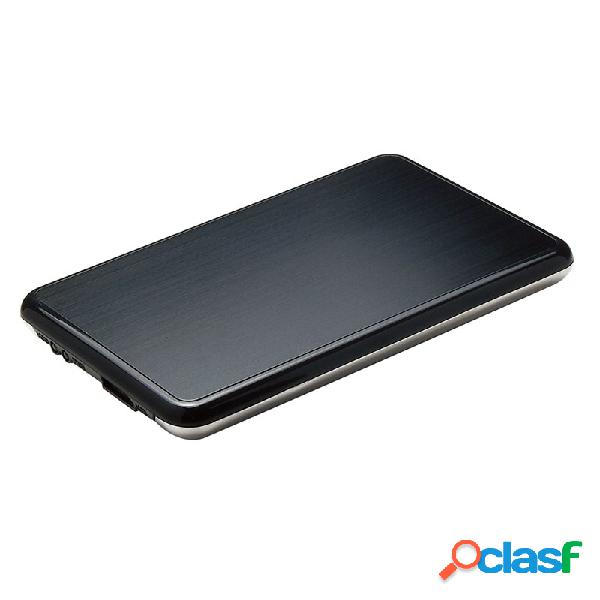 """Getttech gabinete de disco duro egb-2530 2.5"""", sata, micro-usb b, negro"""