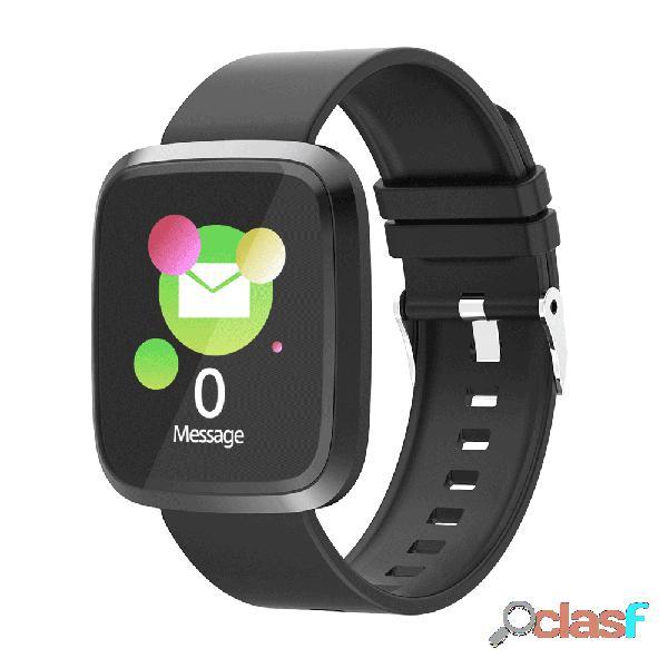 Pantalla grande informe de sueño de presión arterial de 24 horas reloj inteligente modo deportivo actividad monitor aptitud rastreador