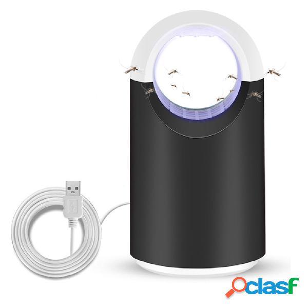 Loskii hogar led mosquito insecticida lámpara trampa led control de plagas eléctrico anti repelente de moscas