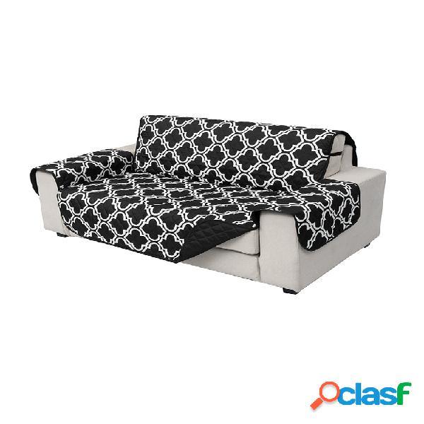 1/2/3 plazas para mascotas perro gato sofá funda protectora para sofá extraíble impermeable alfombrilla antisuciedad para sofá