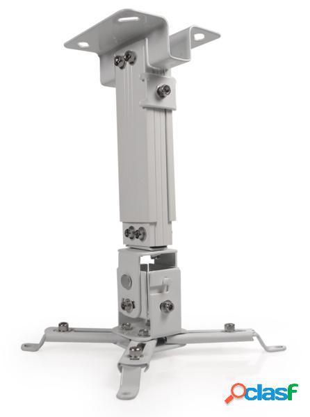 Klip xtreme soporte universal de techo para proyectores, hasta 10kgs, blanco