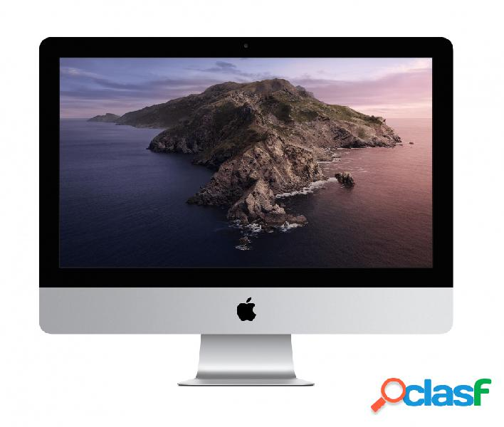 "Apple imac retina 21.5"", intel core i5 2.30ghz, 8gb, 256gb ssd, plata (septiembre 2020)"