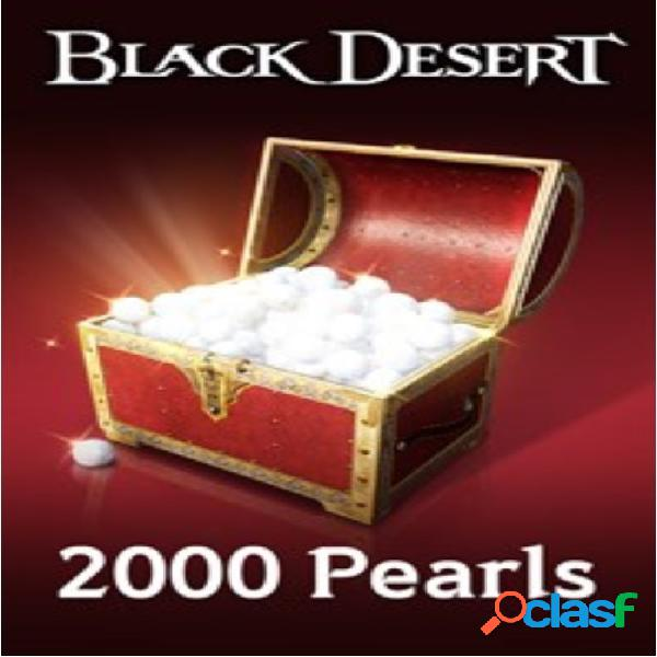 Black desert: 2000 pearls, xbox one - producto digital descargable