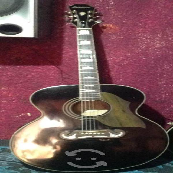 Guitarra epiphone ej200 electroacustica