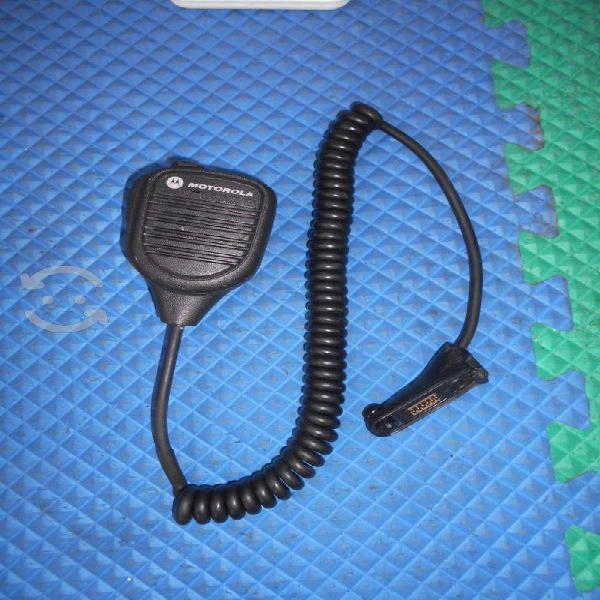 Microfono De Solapa Radio Motorola Mototorbo Serie