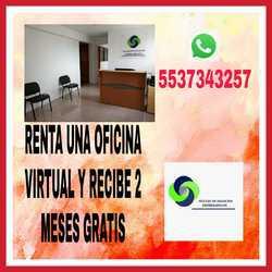Obten la renta de una oficina virtual con buenos servicios