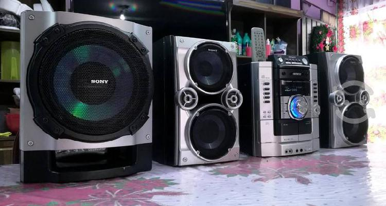 Potente estéreo sony genezi hi-fi para usar auxili