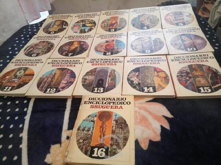 Libro diccionario enciclopedico bruguera 1981