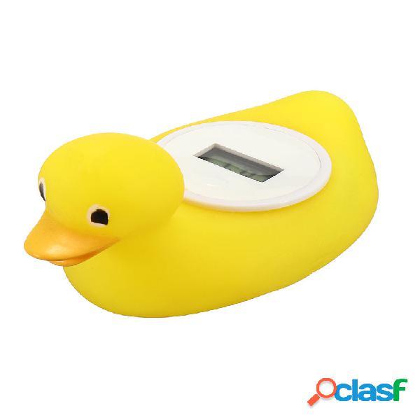 Baño de bebé digital termómetro agua sensor juguete flotante safety duck cuarto de baño diversión
