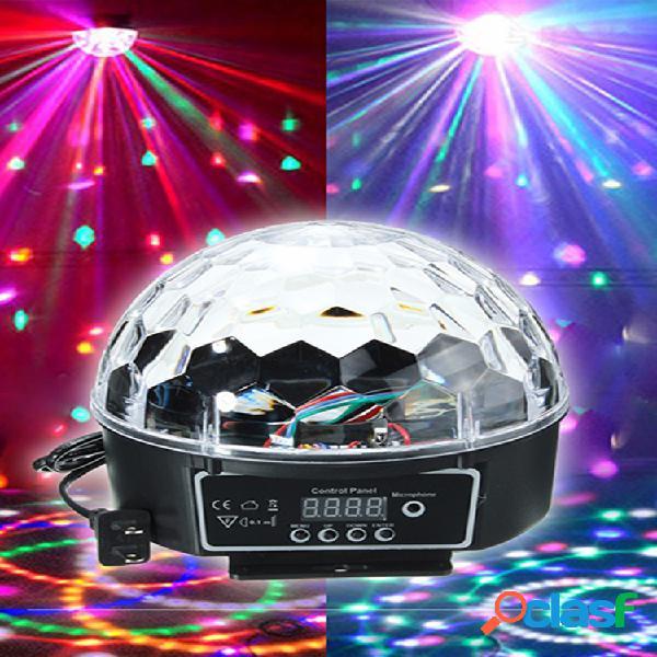 Dj ktv party bar rgb crystal led ball proyector iluminación de efectos de escenario suministros de entretenimiento para el hogar