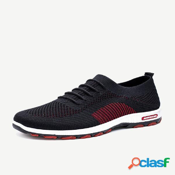 Zapatillas sin cordones transpirables soft para hombre