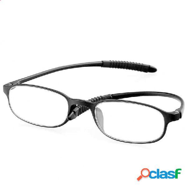 Minleaf tr90 lectura irrompible ultraligera gafas lupa de reducción de presión para hombres mujer