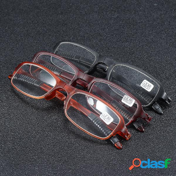 Tr90 soft plegado ligero lectura gafas lupa ojo de alivio salud cuidado