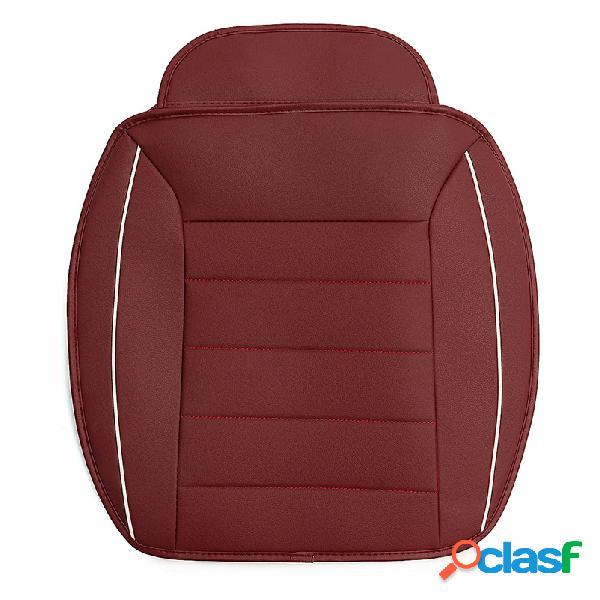 3pcs cuero de la pu coche fundas para asientos delanteros y traseros protector de asiento universal cojín para asiento