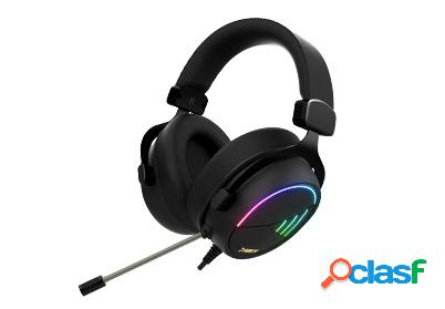 Gamdias audífonos gamer hebe m2 rgb 7.1, alámbrico, 2 metros, usb, negro