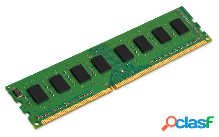 Memoria ram kingston ddr3, 1600mhz, 4gb, non-ecc, cl11, 1r