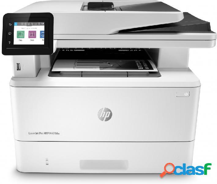 Multifuncional hp laserjet pro m428dw, blanco y negro, láser, inalámbrico, print/scan/copy