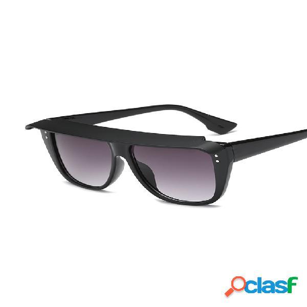 Gafas de sol elegantes para mujer y hombre con gafas de sol desmontables con tapa