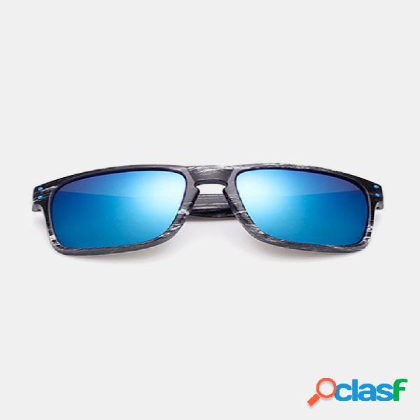 Hombres gafas de sol de conducción de ciclismo retro casual al aire libre gafas deportivas a prueba de viento anti-uv