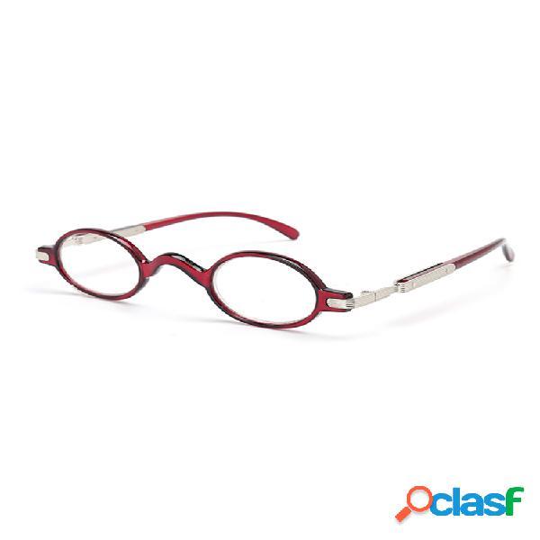 Gafas para présbita con cristales redondos para hombres y mujeres