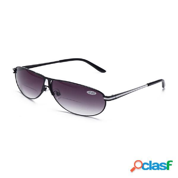 Hombre mujer lectura gafas y gafas de sol polarizadas de doble uso moda de doble función gafas