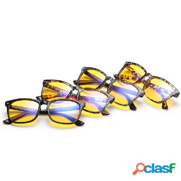 Anteojos de luz anti-azul para juegos de computadora, gafas protectoras para hombres mujer anti uv eye gafas