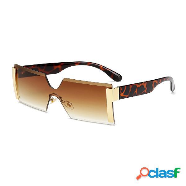 Anti-uv square retro driving gafas fashion big caja gafas de sol con personalidad