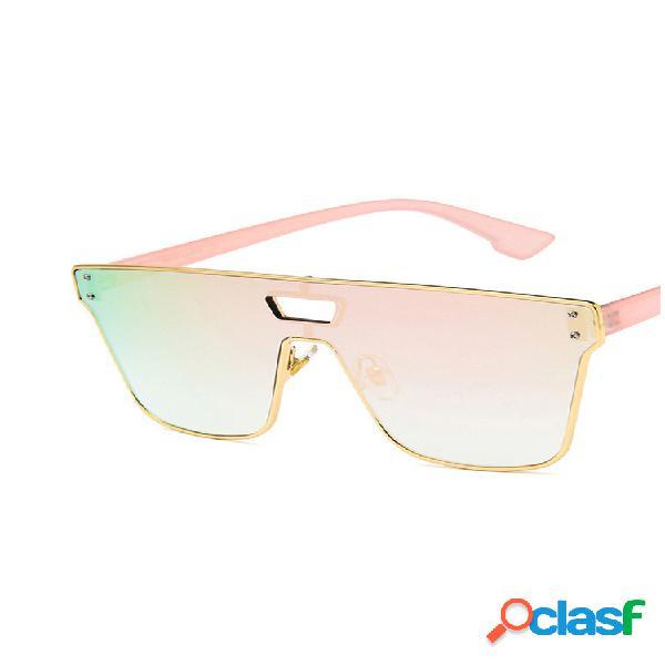 Hombre mujer universal al aire libre playa deporte protección uv-400 gafas de sol de moda