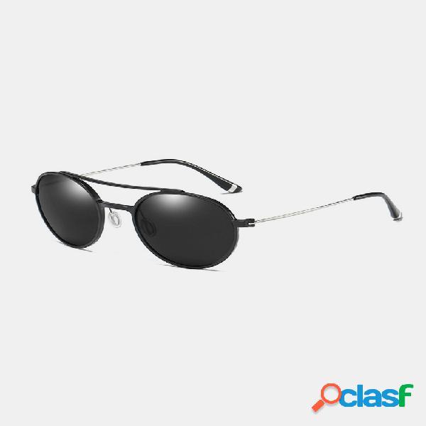 Hombres classic tac aluminio-magnesio marco de metal gafas de sol polarizadas moda conducción gafas