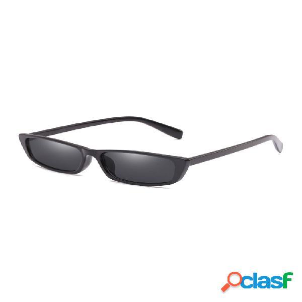 Hombres y mujer gafas de sol retro pequeñas para fiestas gafas de sol con montura de pc para conducir uv400 protección