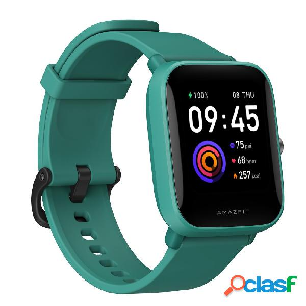 Amazfit smartwatch bip u, touch, bluetooth 5.0, android/ios, verde