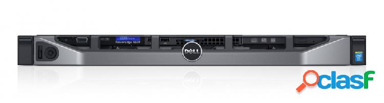 Servidor dell poweredge r330, intel xeon e3 1230v6 3.50ghz, 8gb ddr4, 1tb, 3.5'', sas/sata, rack 1u - no sistema operativo instalado