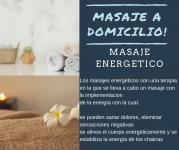 Masaje antiestres/energético/tantrico