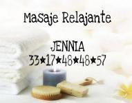 Masaje relajante y excitante...JENNIA