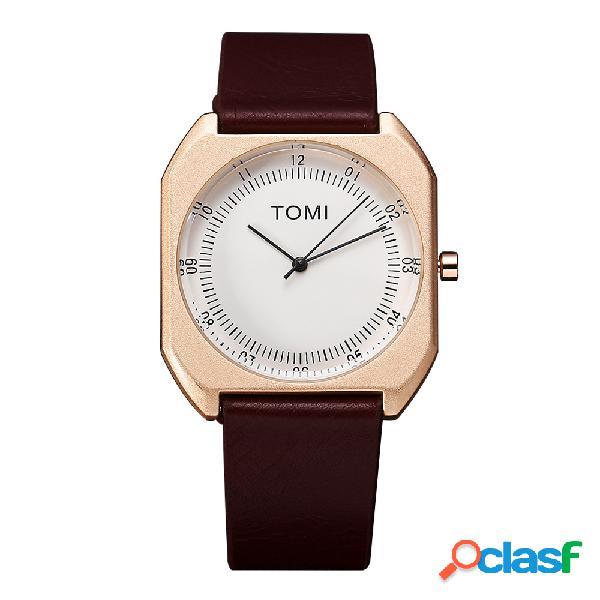 Moda elegante ultra thin dial bussiness minimalist relojes de lujo para hombre relojes regalo para mujer