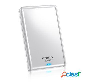 Disco duro externo adata hv620 2.5'', 1tb, usb 3.0, blanco